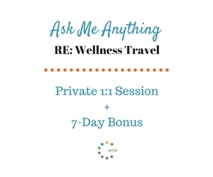 Ask Me Anything About Wellness Travel